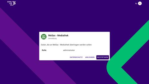 MeSax Mediathek (beta) - Icon
