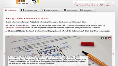 Webseite https://informatikstandards.de
