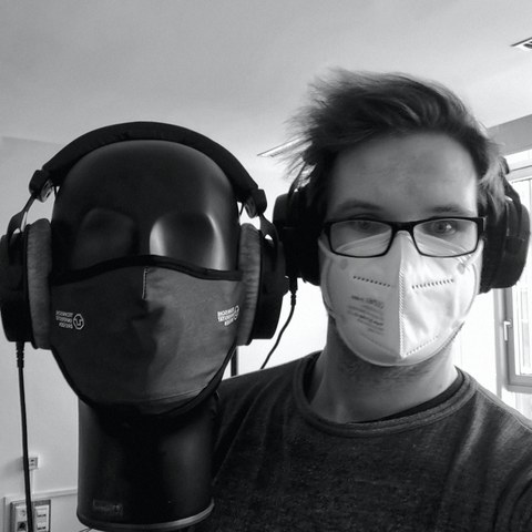 Lars Engeln with DummyHead