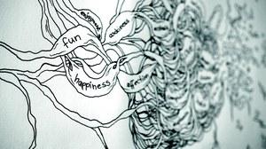 Skizze von Gedankenprozessen