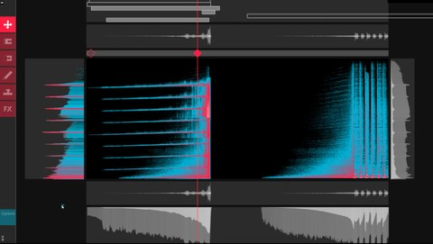 VisualAudio-Design, an interface for SpectralEditing