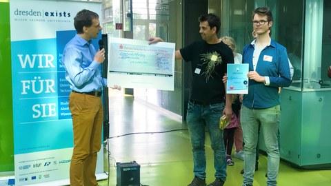 Projekt Sprechmaschine erhält Preis bei OUTPUT 2018