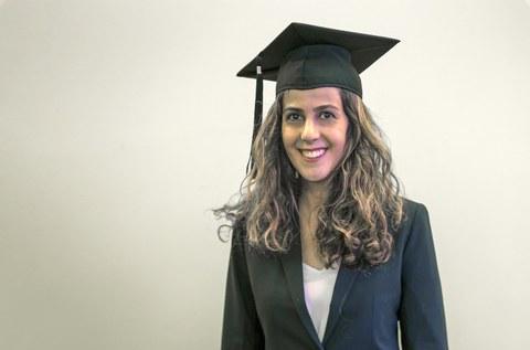 Zana Vosough verteidigt Doktorarbeit
