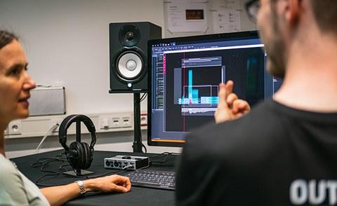 Lars Engeln erklärt das VisualAudio-Design