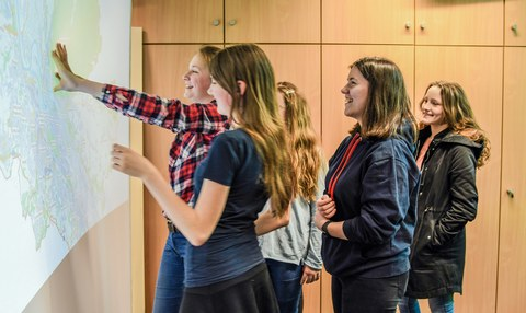 GirlsDay'18 - Exploration an der Flexiwall