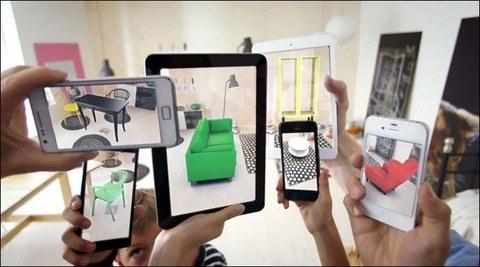 AR-Technologien in bildhafter Gegenüberstellung