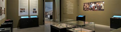 Medienstationen im Ausstellungskontext