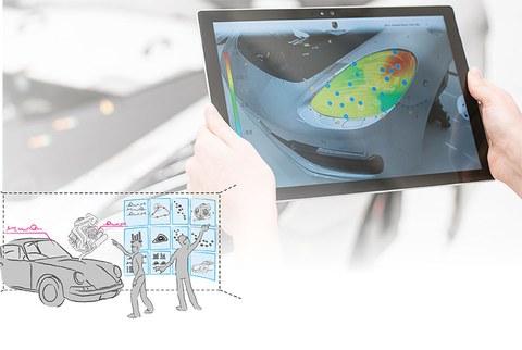 Design Hub Dresden 2018 – Innovative Augmented-Reality-Konzepte zur Qualitätskontrolle (Porsche Leipzig GmbH)