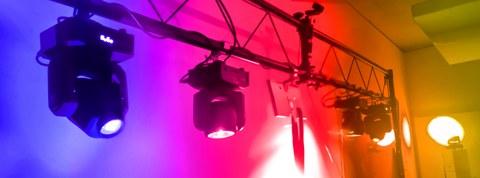 Bunte DMX-Lichter