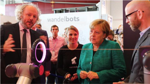 HotWire with Merkel