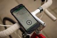 Die Cyface App am Fahrrad