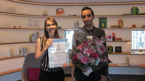 Jeannine Born Telekom MINT Preis