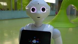 Pepper, der neue Mitarbeiter am Lehrstuhl ADS