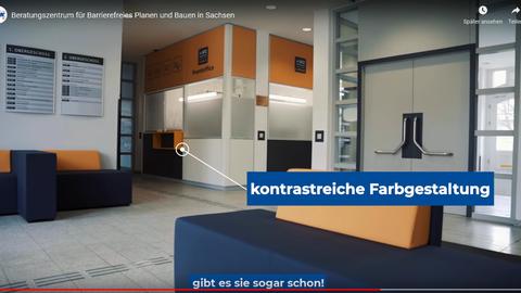 Informationsfilm für Barrierefreies Planen und Bauen in Sachsen