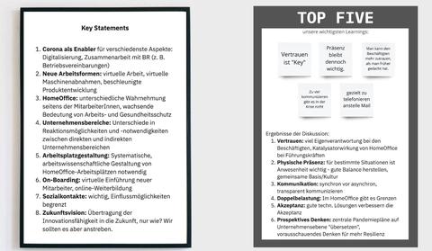 Ergebnisse aus dem Workshop mit Unternehemensvertretern am 27.10.2020
