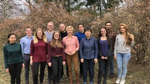Gruppenbild der neuen Doktorand/innen