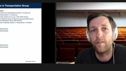 Bildschirmfoto des Gastvortrags