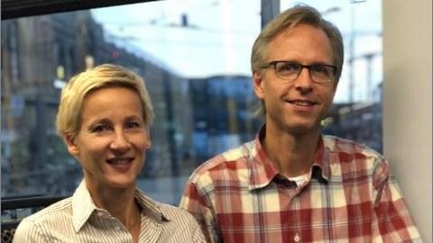 Doktor Anna Martius und Professor Stefan Gumhold