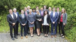 Gruppenbild der Dresdener Teilnehmer der Doktorandentage