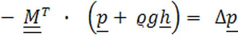 transponierte Kopplungsmatrix M