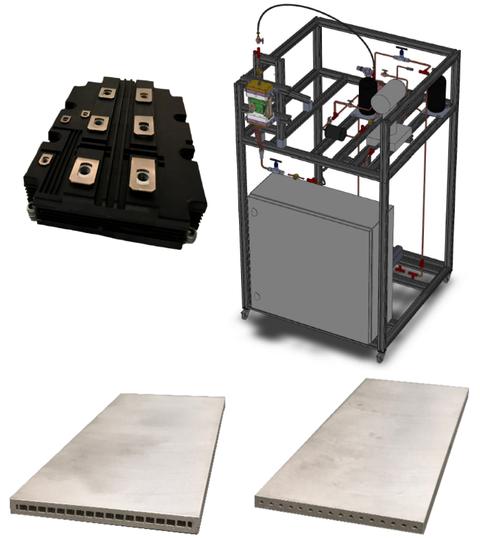 Microchannel-Wärmeübertrager