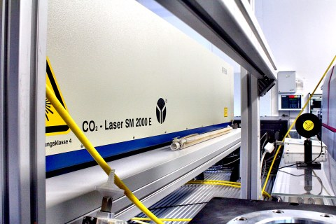 Foto CO2-Laser