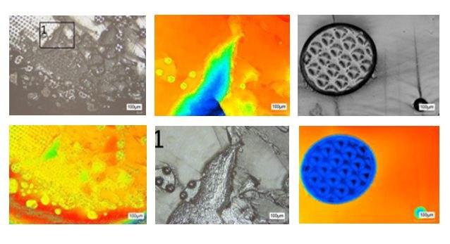 Fotos Laserstrukturierung