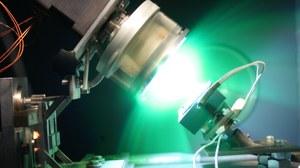 foto Laser grün