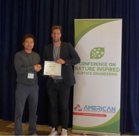 1st NISE Konferenz Poster Award für Stephan Milles