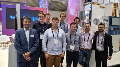 CAMP Team (TU Dresden, Fraunhofer IWS) auf der Laser World of Photonics 2019 in München