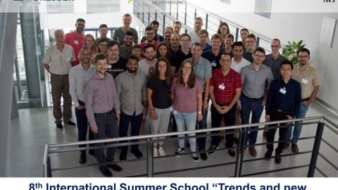 8. Internationale Summer School IWS Dresden
