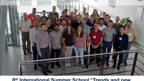 8th International Summer School IWS Dresden