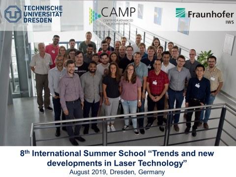 8th International Summer School IWS Dresden