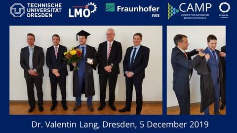 Dissertationsverteidigung Valentin Lang