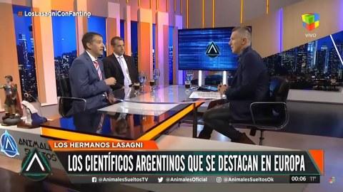 Andrés Lasagni und Fernando Lasagni im Interview mit Alejandro Fantino (Animales Sueltos en Vivo)