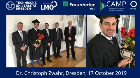Dissertationsverteidigung Christoph Zwahr
