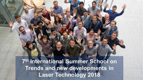 7th Int. Sommer School 2018
