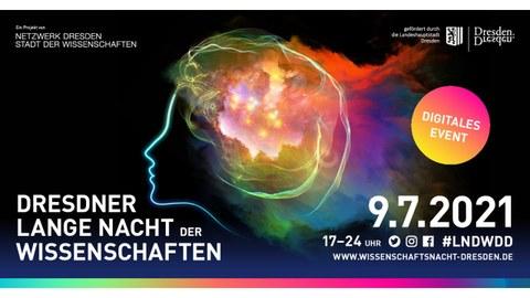 Dresdner Lange Nacht der Wissenschaften 9.7.2021