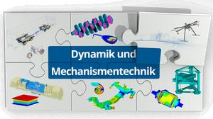 Logo der Professur Dynamik und Mechanismentechnik