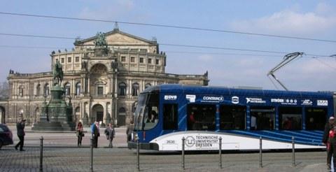 Messstraßenbahn DD
