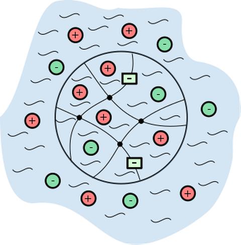 Hydrogel Prinzipskizze