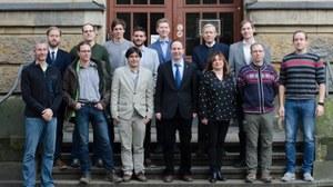 Foto der Mitarbeiter der Professur für Mechanik multifunktionaler Strukturen