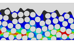 Simulation of the damage behavior of a fibre-reinforced polymer