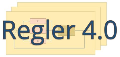 """Logo des Projektes """"Regler 4.0"""""""