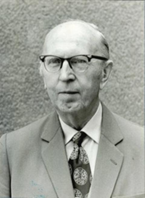 Portrait von Rudolf Schmidt