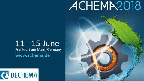 Logo der ACHEMA 2018
