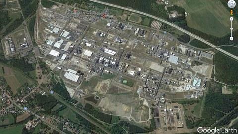 Luftbild BASF Schwarzheide