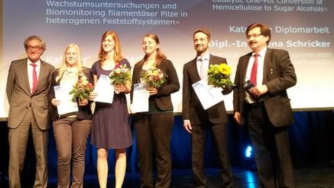 Verleihung des Linde-Award an Frau Dipl.-Ing. Lena Schricker