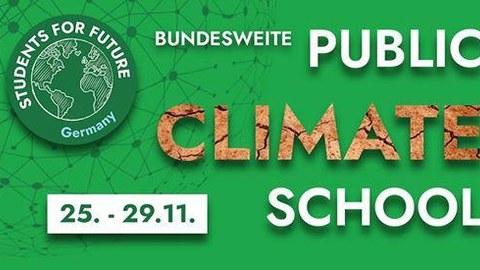 Titelbild der Public Climate School Woche