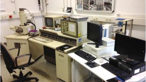 Konventionelles Rasterelktronenmikroskop